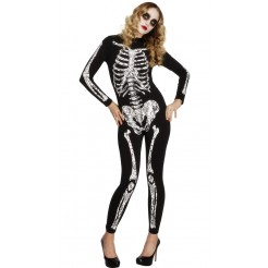 Fever Soleil Skeleton Costume