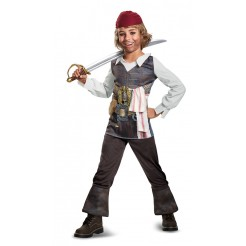 2017 Captain Jack Sparrow Costume