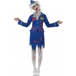 Zombie Air Hostess Costumes