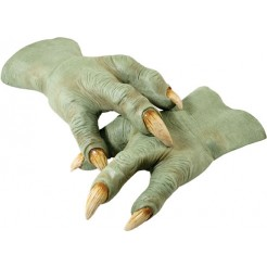 Yoda Latex Hands - Adult