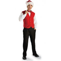 Red Santa Vest