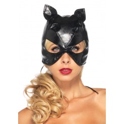 Lace Up Cat Mask