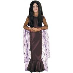 Hall Sens Child Morticia Costume