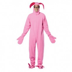 A Christmas Story Pink Bunny Suit Costume