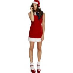 Fever Miss Santa Cutie Costume