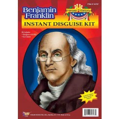 Benjamin Franklin Instant Disguise Kit