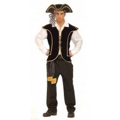 Deluxe Pirate Vest Male