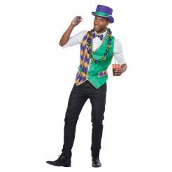 Mardi Gras Men's Vest Kit