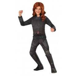 Deluxe Black Widow Kids Costume