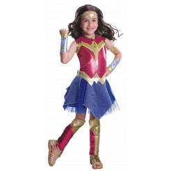 Deluxe Wonder Woman Kids Costume