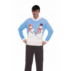 Snow Couple Sweater