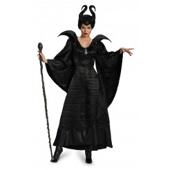 Deluxe Maleficent Black Christening Gown Costume