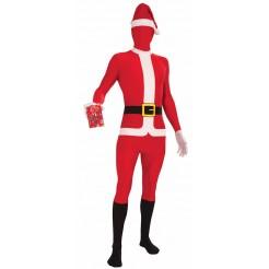 Disappearing Man Santa Suit Costume