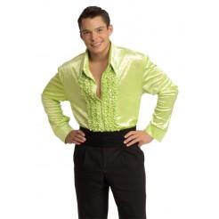 Green Velvet Disco Shirt