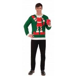 Ugly Christmas Elf Sweater