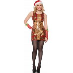 Sequin Present Dress Costume