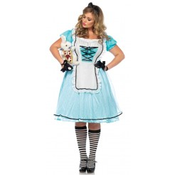 Tea Time Alice Plus Size Costume