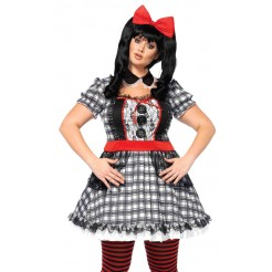 Darling Babydoll Plus Size Costume