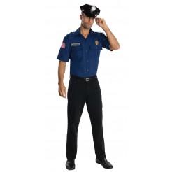 Police Officer Costume - Blue