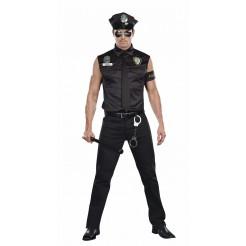 Dirty Officer Ed Banger Costume