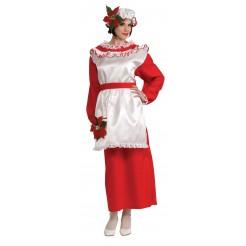 Mrs. Poinsetta Claus Costume