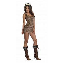Cave Girl Starter Dress Costume