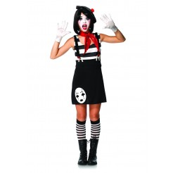 Miss Mimes Teen Costume