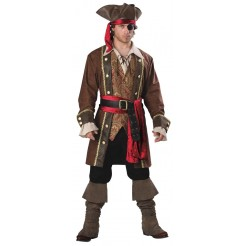 Deluxe Captain Skullduggery Adult Costume