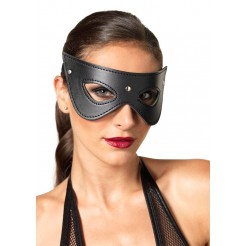 Faux Leather Studded Fantasy Eyemask